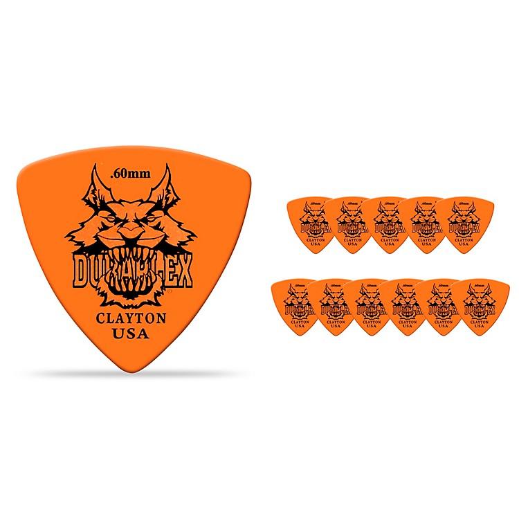 ClaytonDuraplex Delrin Rounded Triangle Picks 1 Dozen