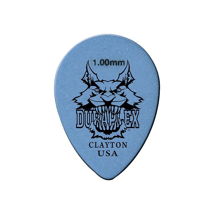 ClaytonDuraplex Delrin Small Teardrop Picks 1 Dozen1.00 MM