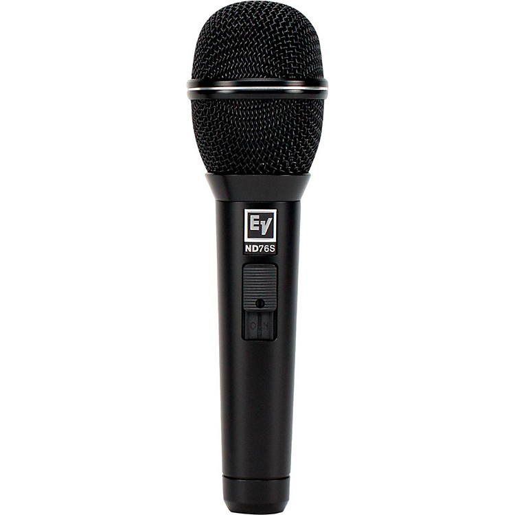 Electro-Voice Dynamic Cardioid Vocal Microphone with Mute/Unmute Switch