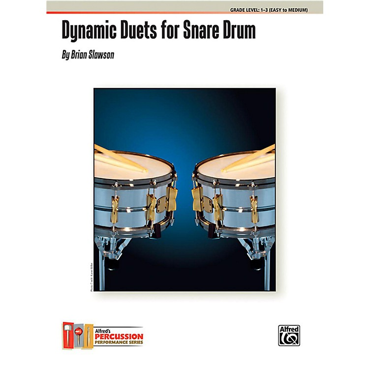 AlfredDynamic Duets for Snare Drum Book