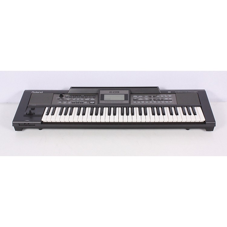 Roland E-09 Interactive Arranger Electronic Keyboard - Factory  886830169908