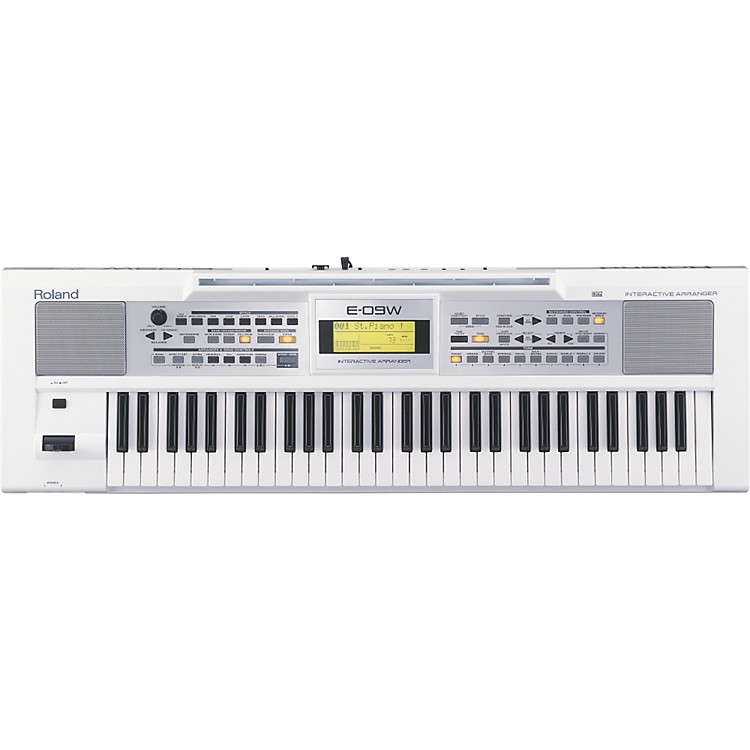 Roland E-09W Interactive Arranger Keyboard