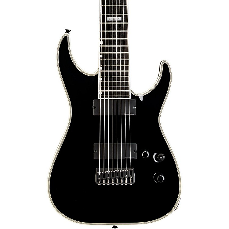 ESP E-II HRF NT-8B 8 String Electric Guitar Black
