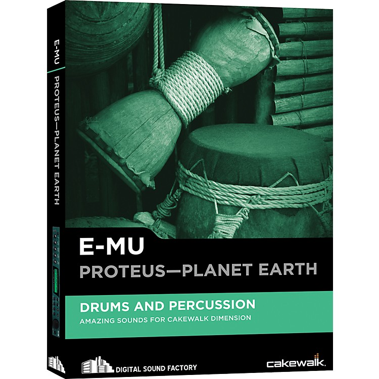 Cakewalk E-MU Proteus-Planet Earth