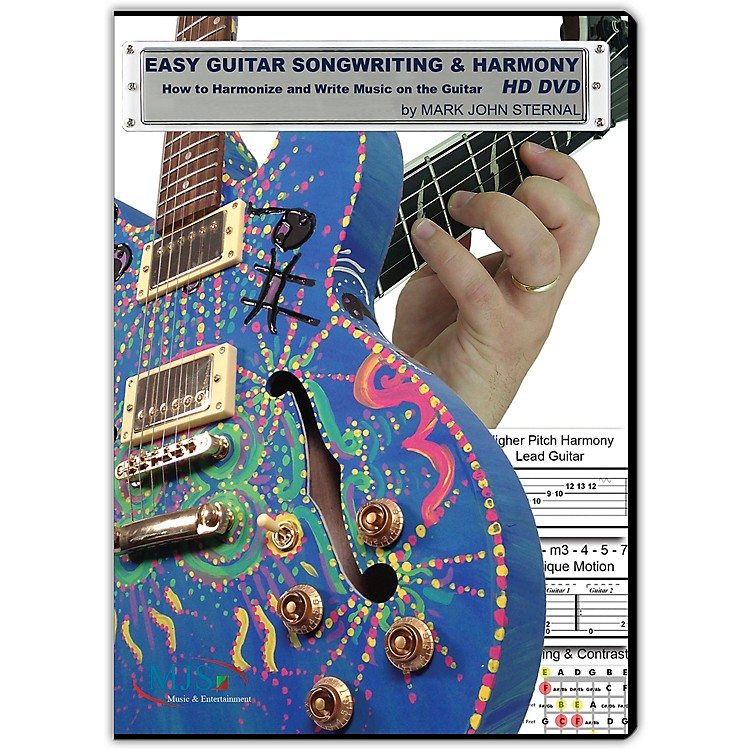 MJS Music PublicationsEASY GUITAR SONGWRITING DVD: Writing Music and Harmony on the Guitar