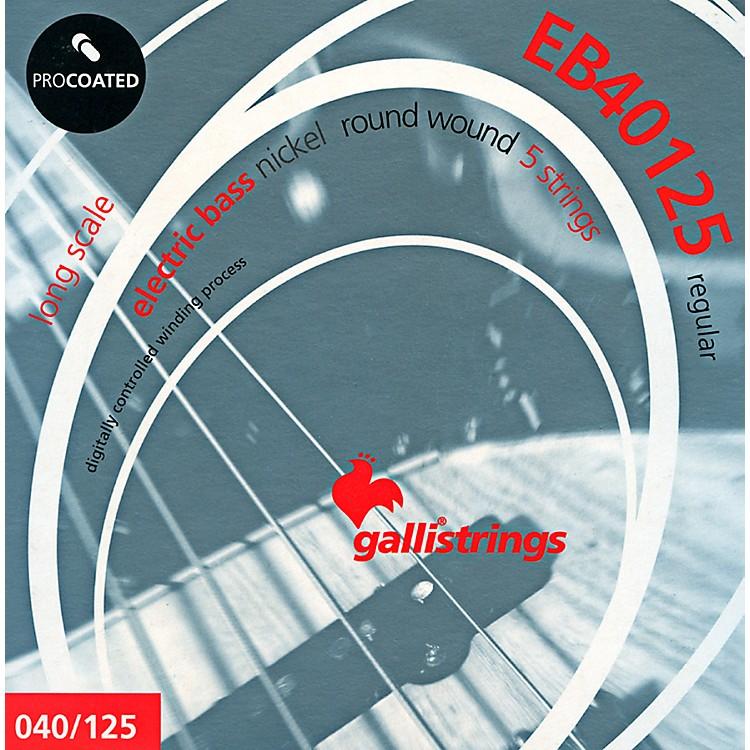 Galli StringsEB40125 PROCOATED 5-String Regular Bass Strings 40-125