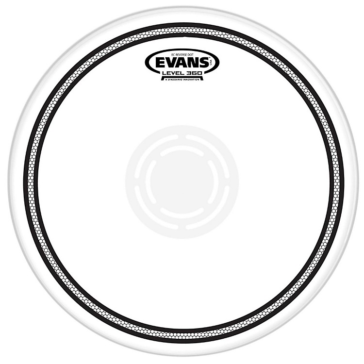 EvansEC Reverse Dot Coated Snare Batter Head