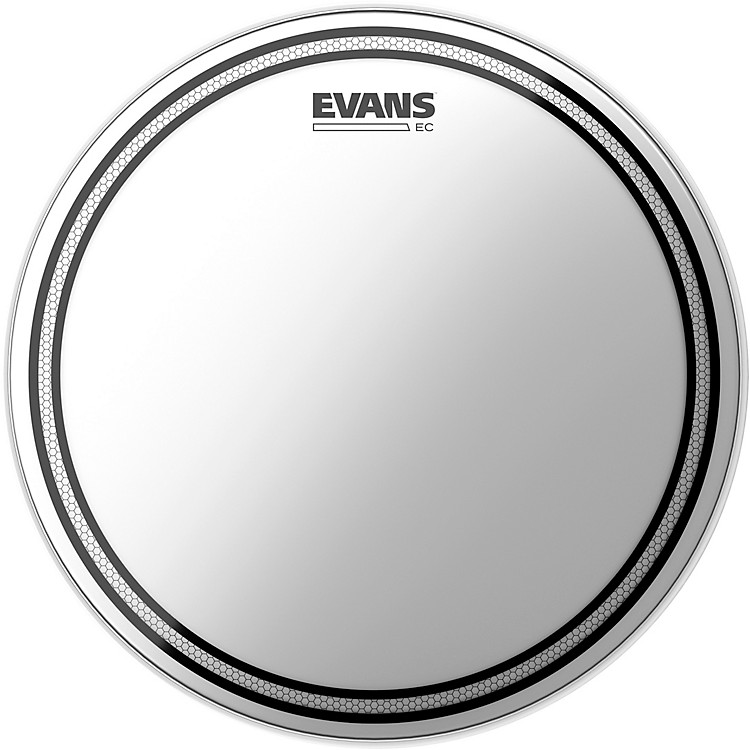 Evans EC Snare Coated Batter Head  #602 Bistro Black