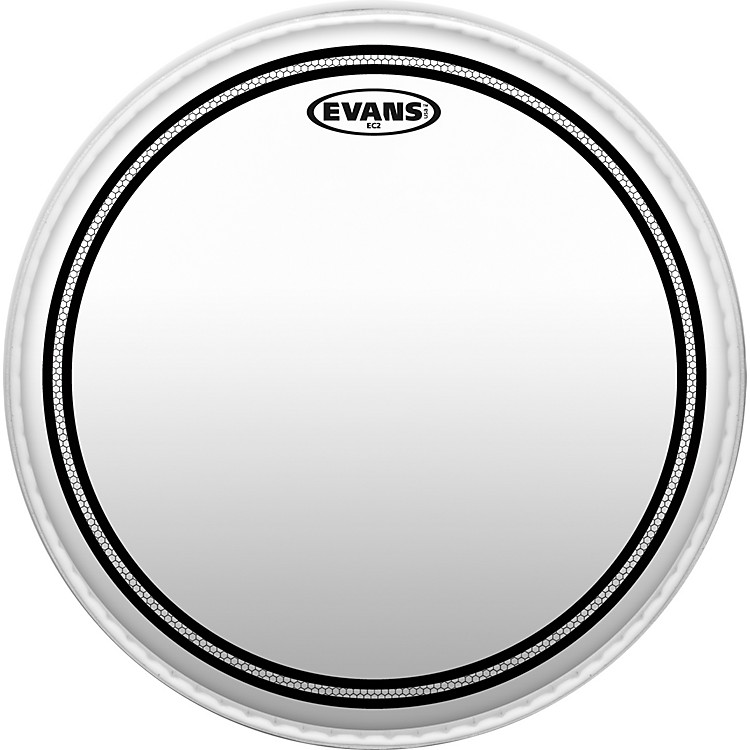 EvansEC2 SST Clear Batter Drumhead18 in.