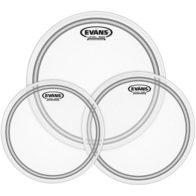 EvansEC2 SST Coated Drumhead Pack
