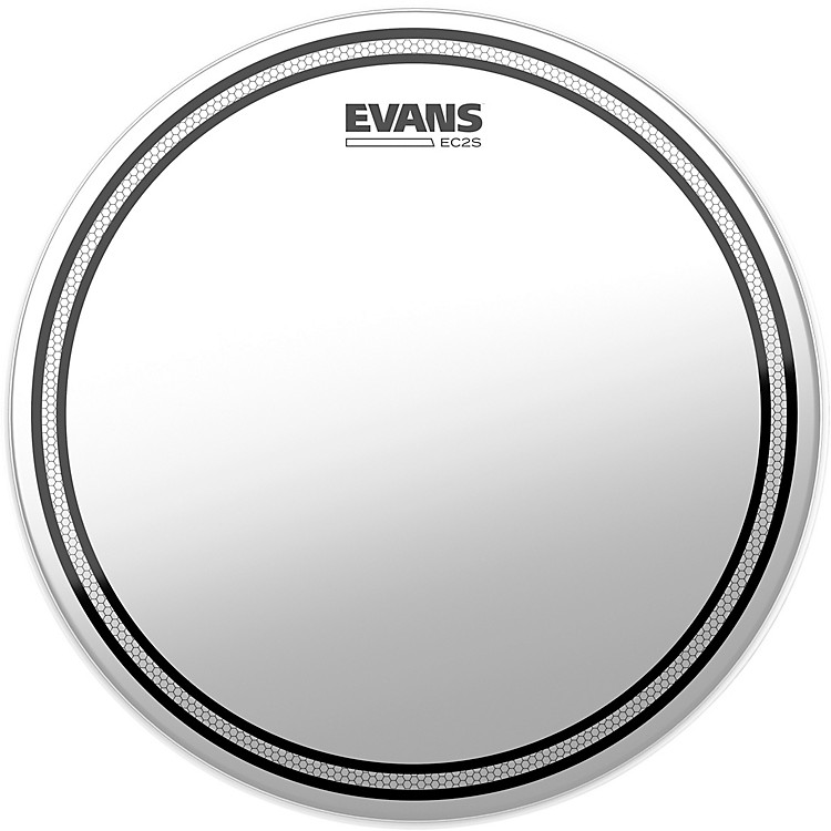 EvansEC2S Frosted Drumhead15 in.