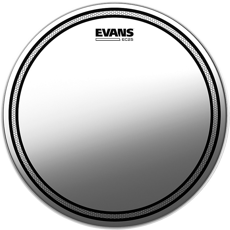 EvansEC2S Frosted Drumhead16 in.