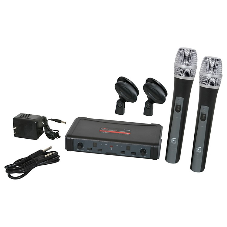 Galaxy Audio ECD Dual Channel UHF Wireless System with Dual HH38 Handhelds Band D