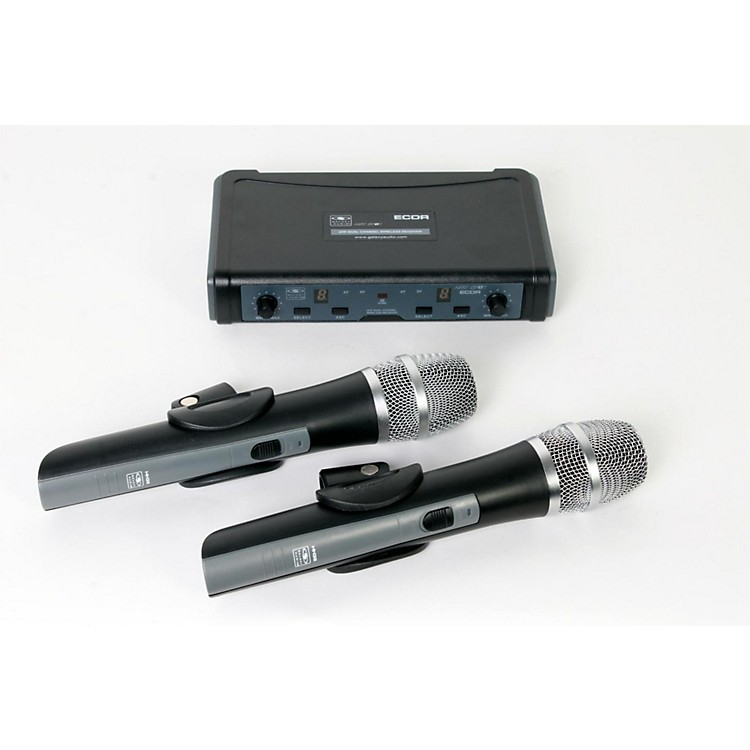 Galaxy Audio ECD Dual Channel UHF Wireless System with Dual HH38 Handhelds Band L 888365816135