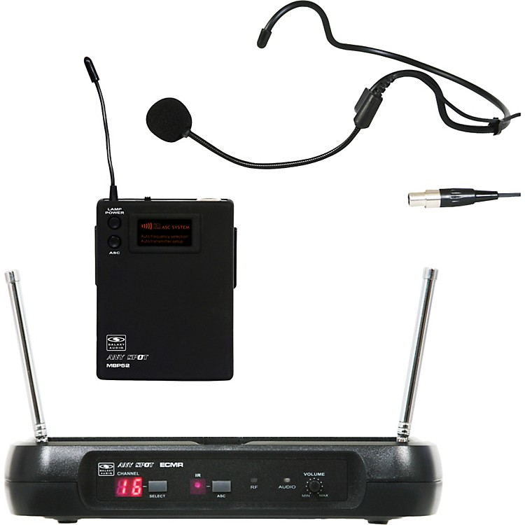 Galaxy Audio ECM Headset Wireless System L