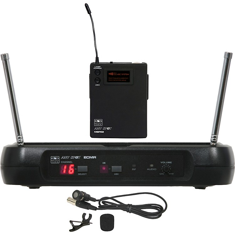 Galaxy Audio ECM Lav Wireless System L