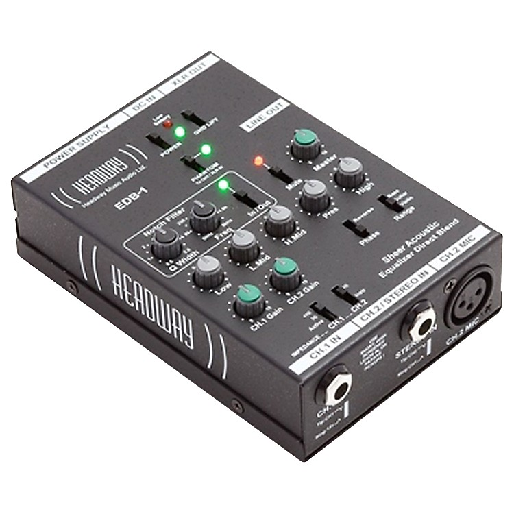 HeadwayEDB-1 Acoustic Instrument Preamp