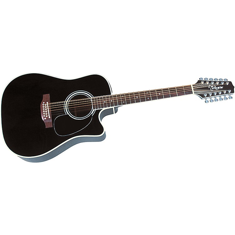 TakamineEF-381C 12-String Acoustic-Electric Cutaway Guitar