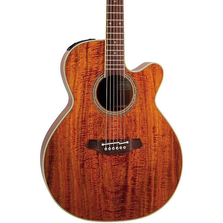 TakamineEF508KC NEX Legacy Series All Koa Acoustic-Electric Guitar