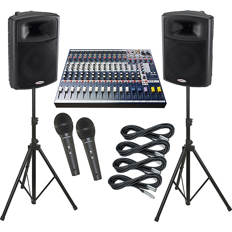 Soundcraft EFX12 / Harbinger APS15 PA Package