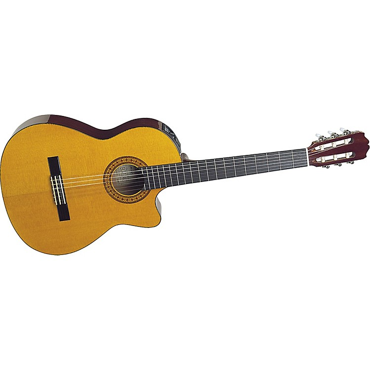 Takamine EG124C G Series Cutaway Acoustic-Electric Classical Guitar
