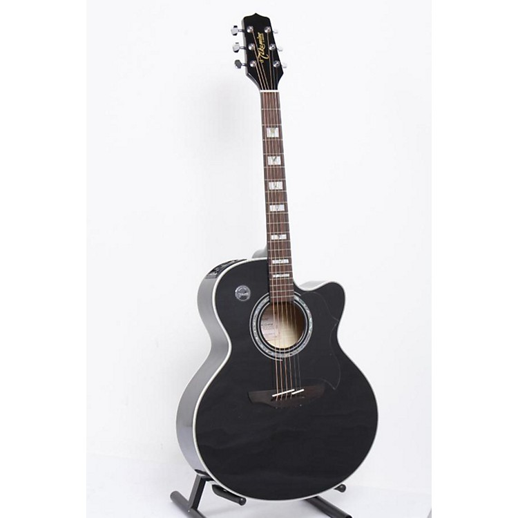 Takamine EG523SC Acoustic-Electric Guitar Black 886830672484