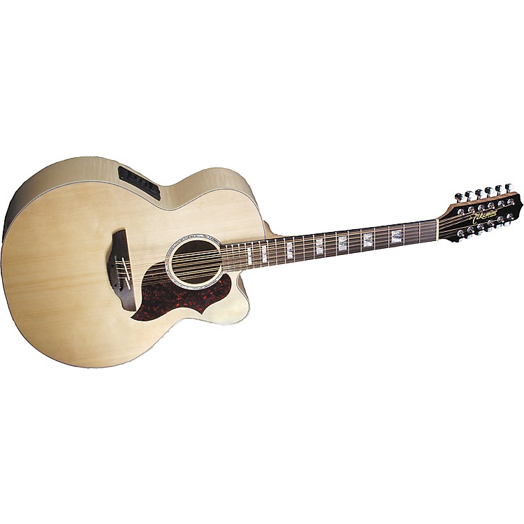 Takamine EG523SC12 12-String Acoustic-Electric Guitar Natural