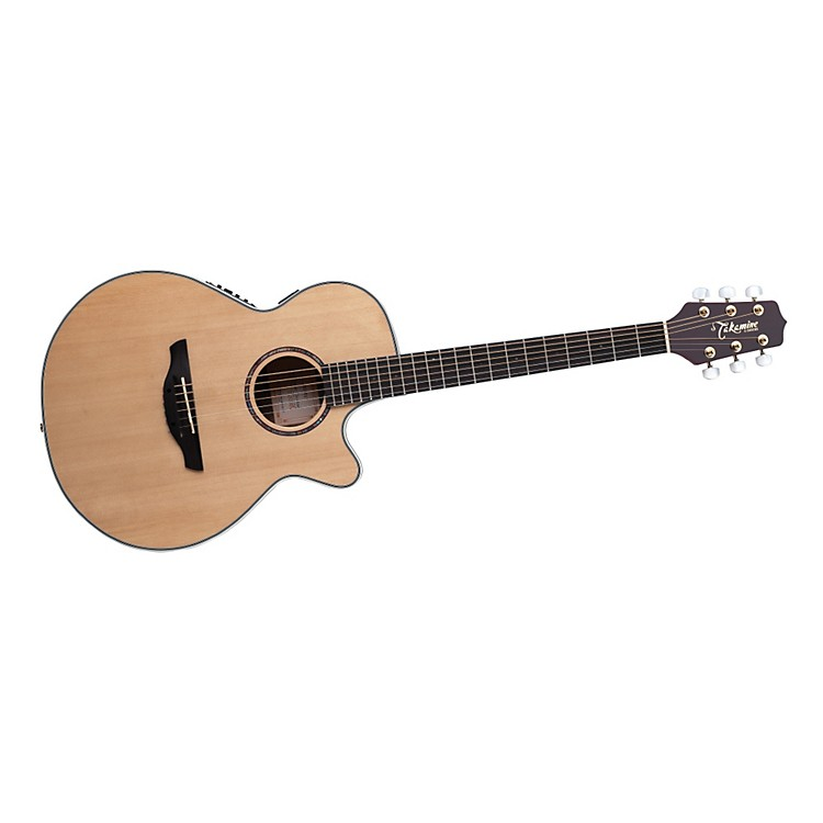Takamine EG568C FXC Thin Line Acoustic-Electric Guitar Natural