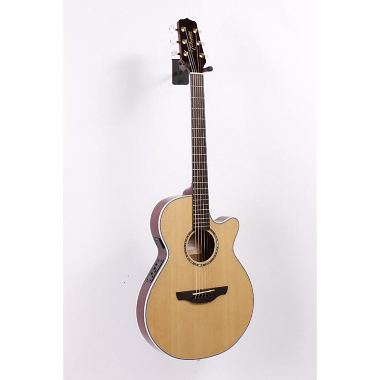 Takamine EG568C FXC Thin Line Acoustic-Electric Guitar Natural 886830787492