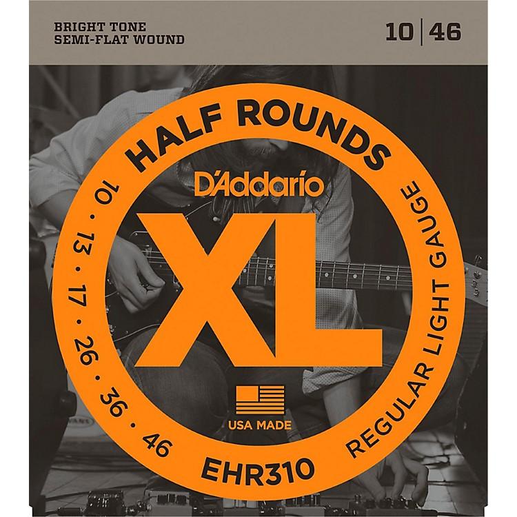 D'AddarioEHR310 Half Round Regular Light Electric Guitar Strings