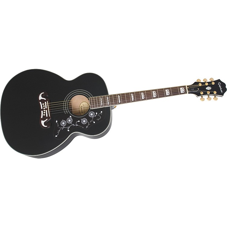Epiphone EJ-200 Acoustic Guitar Ebony