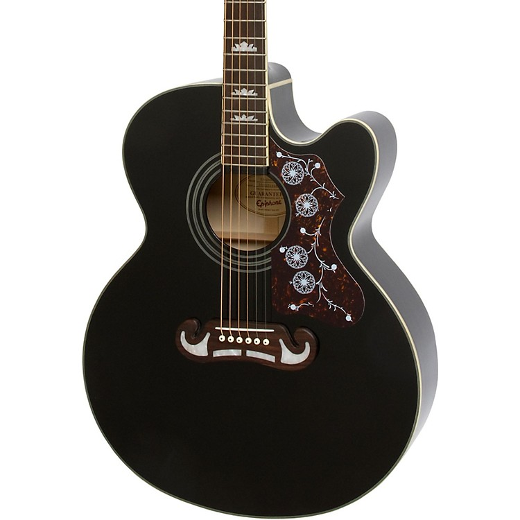 Epiphone EJ-200SCE Acoustic-Electric Guitar Black