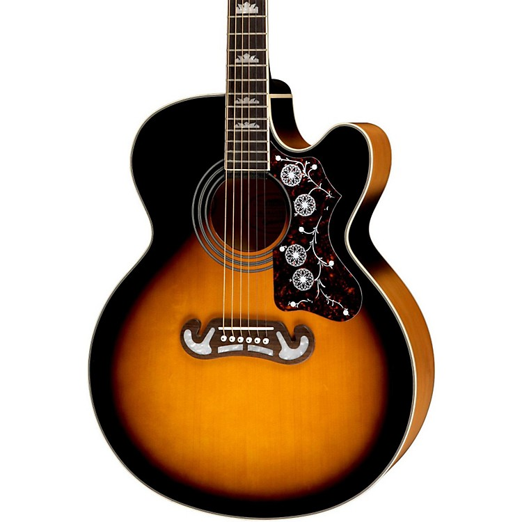 EpiphoneEJ-200SCE Acoustic-Electric GuitarVintage Sunburst