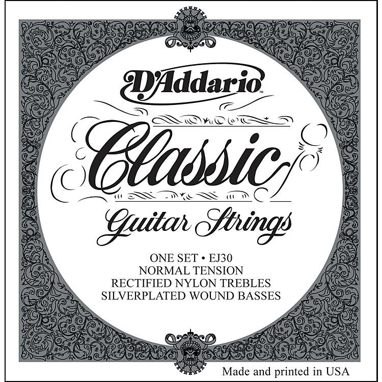 D'AddarioEJ30 Rectified Classics Normal Tension Classical Guitar Strings Regular