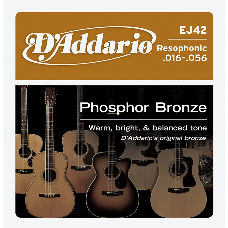 D'AddarioEJ42 PB Resophonic String Set