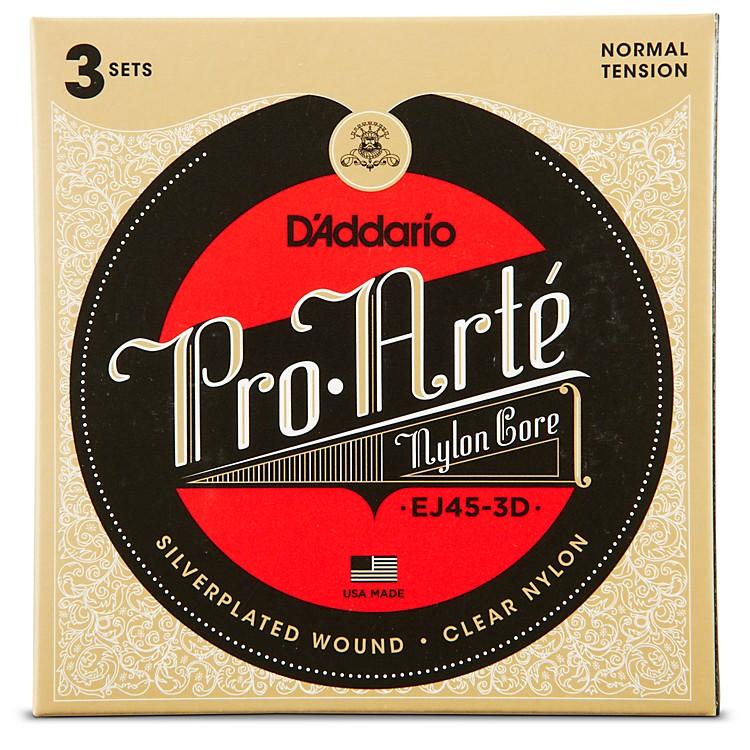 D'AddarioEJ45 Pro-Arte Classical Guitar Strings 3-Pack