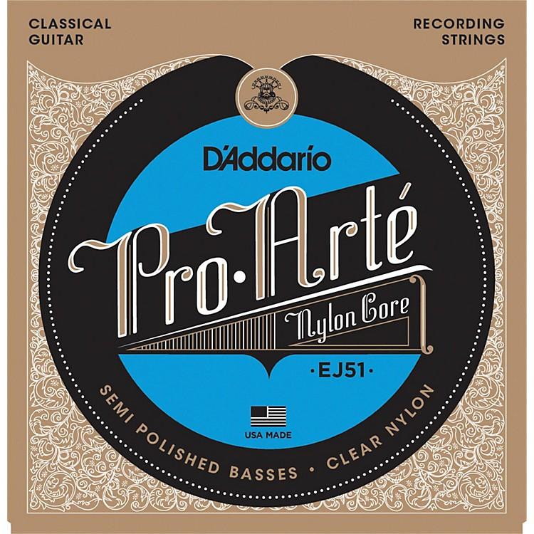 D'AddarioEJ51 Pro-Arte Semi Polished Basses Hard Tension Classical Guitar Strings