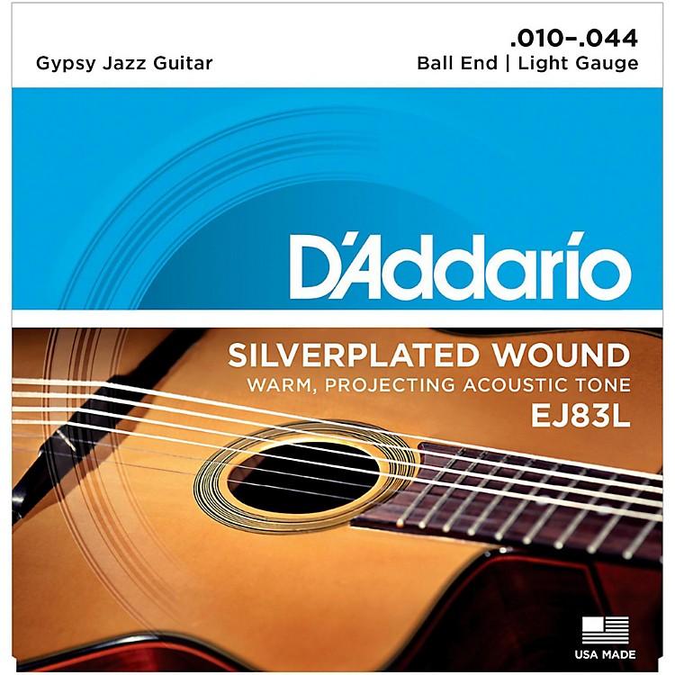 D'AddarioEJ83L Gypsy Jazz Silver Wound Light Acoustic Guitar Strings