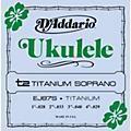 D'Addario EJ87S Titanium Sopranto Ukulele Strings