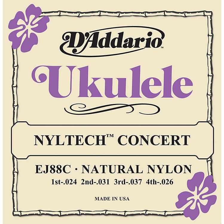 D'AddarioEJ88C Nyltech Concert Ukulele Strings