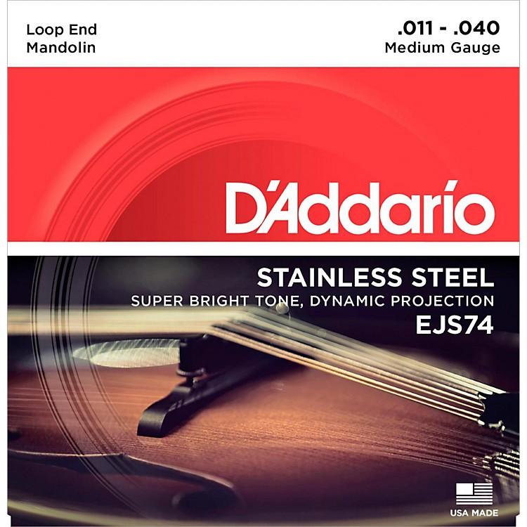 D'AddarioEJS74 Stainless Steel Medium Mandolin Strings (11-40)