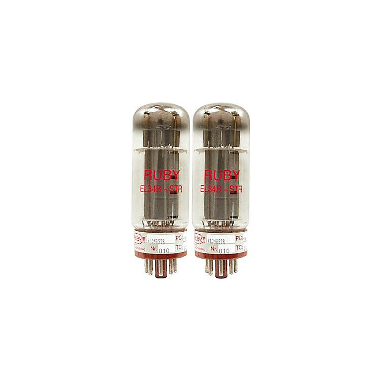 Ruby EL34 Matched Power Tubes