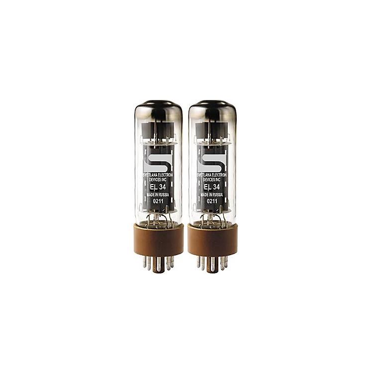 SvetlanaEL34 Matched Power TubesSoft/RedDuet