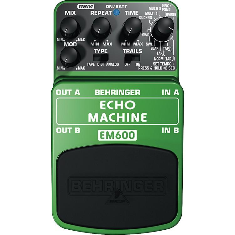 BehringerEM600 Echo Machine Echo Modeling Effects Pedal