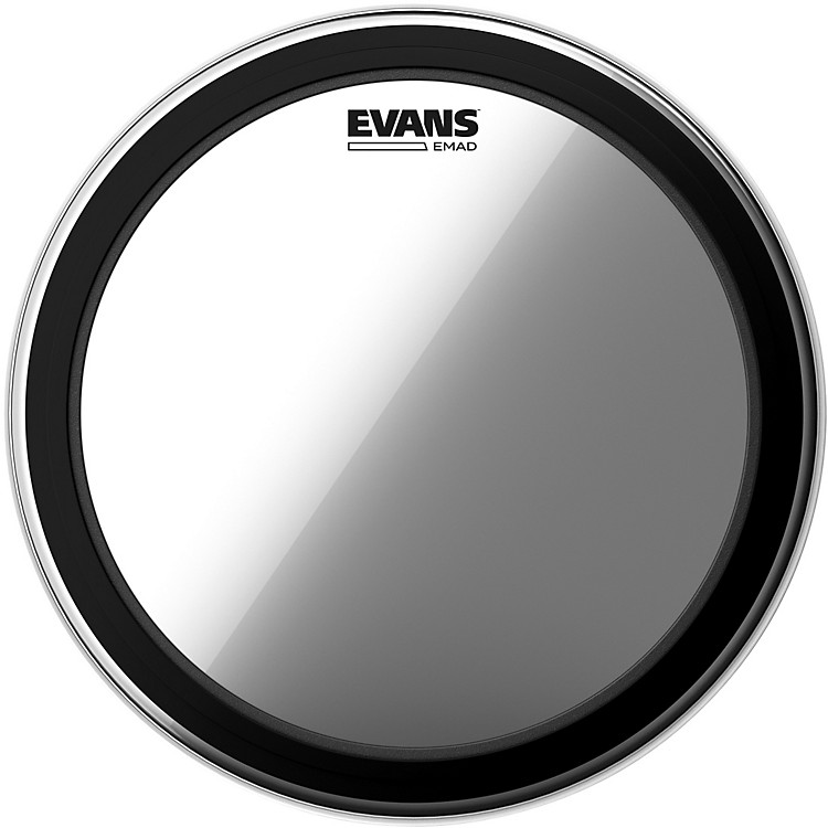 Evans EMAD Clear Batter Bass Drumhead