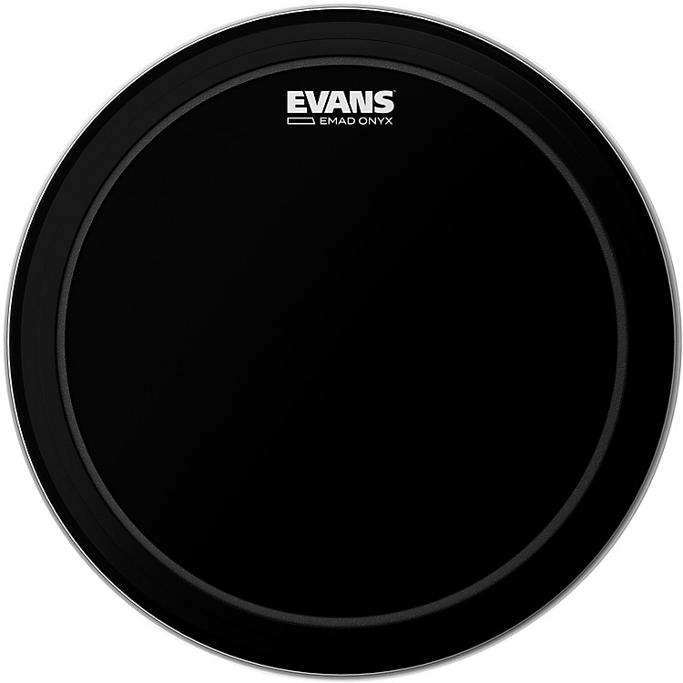 Evans EMAD Onyx Bass Batter Drumhead 20 in.