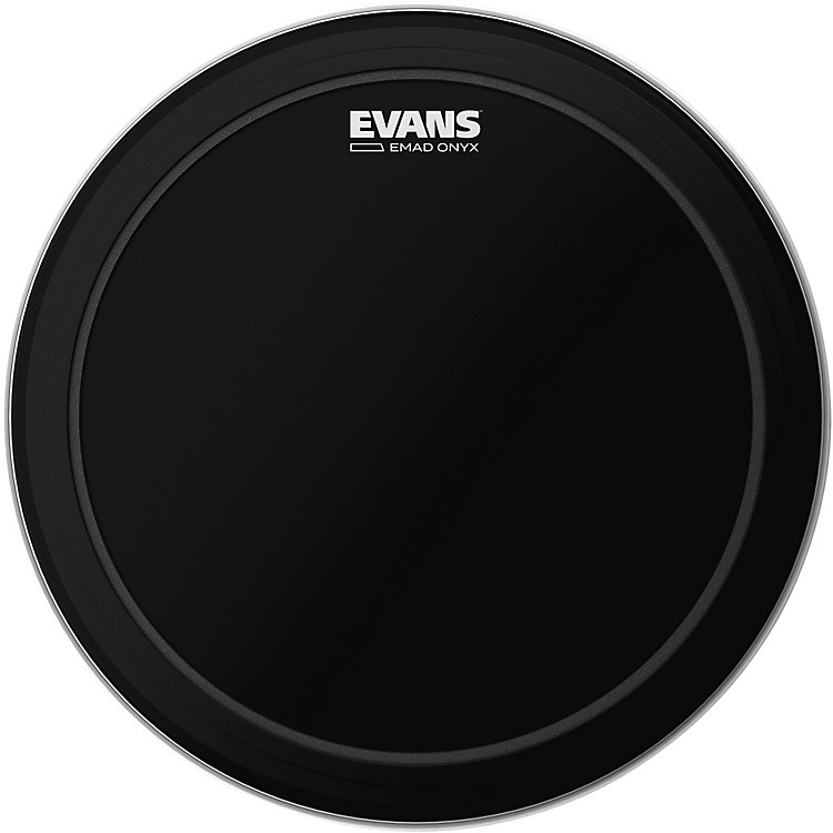 EvansEMAD Onyx Bass Batter Drumhead22 in.