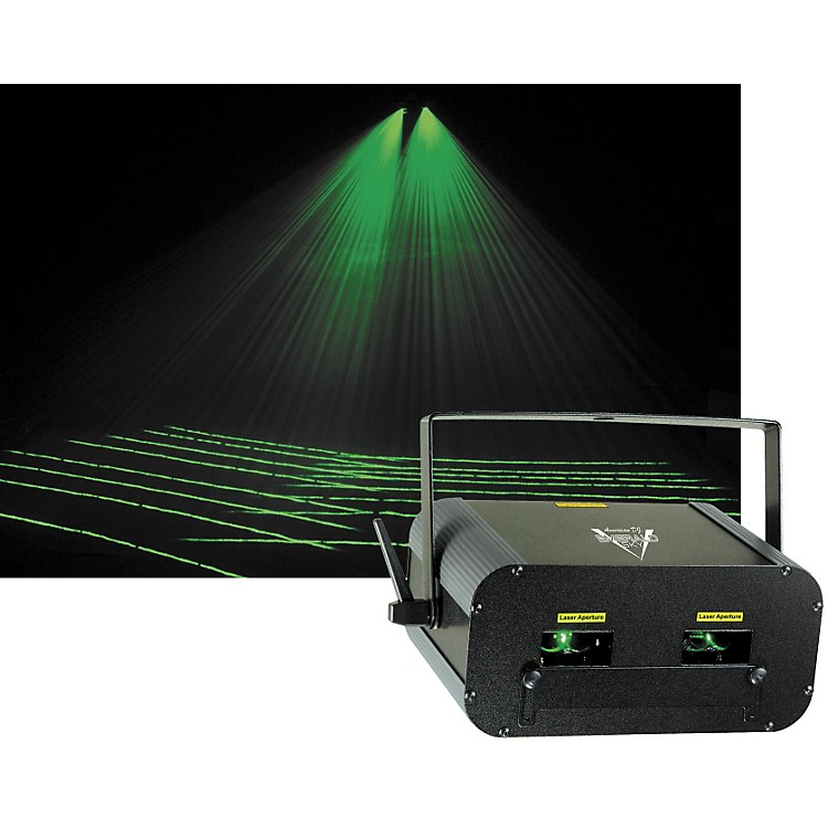 American DJ EMERALD SKY Green Laser Music123