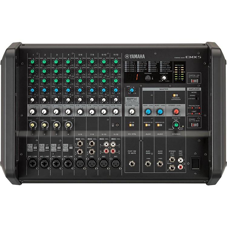 YamahaEMX5 12-Input Powered Mixer with Dual 630 Watt Amp
