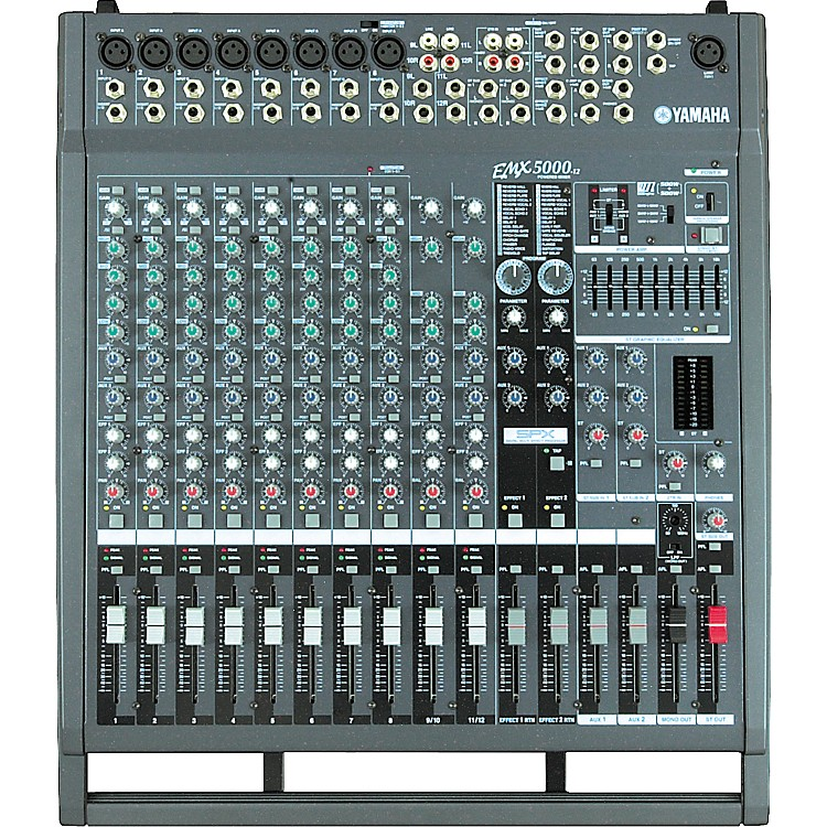 Yamaha EMX5000-12 12-Channel 1000W Powered Mixer